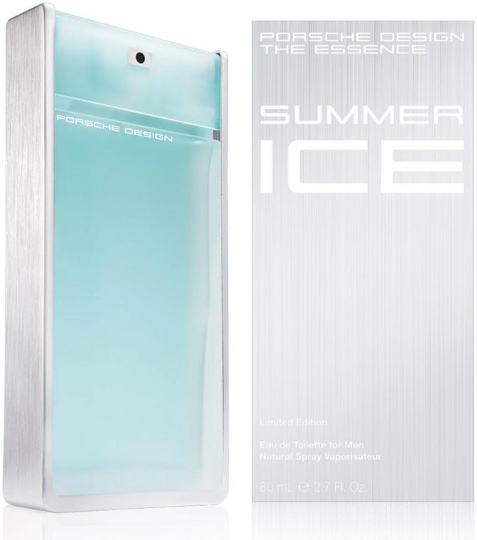 Porsche Design The Essence Summer Ice - Apă de toaletă — Imagine N1