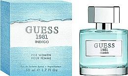 Guess 1981 Indigo for Women - Apă de toaletă — Imagine N3