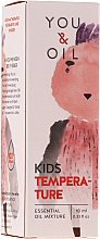 Parfumuri și produse cosmetice Amestec de uleiuri esențiale pentru copii - You & Oil KI Kids-Temperature Essential Oil Mixture