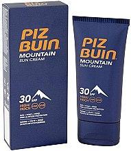 Parfumuri și produse cosmetice Cremă de protecție solară pentru față - Piz Buin Mountain Sun Cream SPF30