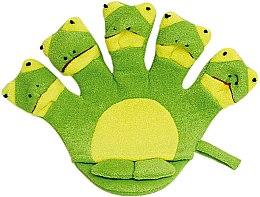 Parfumuri și produse cosmetice Burete de baie pentru copii - Titania Frog
