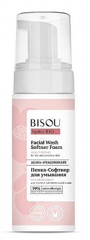 Spumă de curățare pentru față - Bisou Hydro Bio Facial Wash Softner Foam
