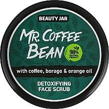 """Parfumuri și produse cosmetice Scrub pentru față """"Mr. Coffee Bean"""" - Beauty Jar Detoxifying Face Scrub"""