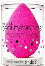 Parfumuri și produse cosmetice Set - Beautyblender Original (sponge/1pc + soap/1pc)