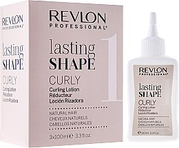 Духи, Парфюмерия, косметика Набор для завивки для натуральных волос - Revlon Professional Lasting Shape Curly Lotion Natural Hair (lot/3x100ml)