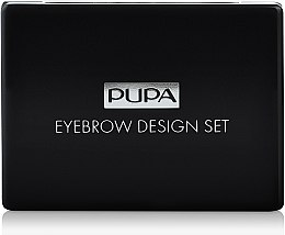 Parfumuri și produse cosmetice Set - Pupa Design Eyebrow