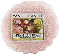 Parfumuri și produse cosmetice Ceară aromată - Yankee Candle Fresh Cut Roses Tarts Wax Melts