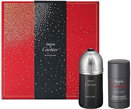 Cartier Pasha de Cartier Edition Noire - Set (edt/100ml + deo/st 75ml) — Imagine N1