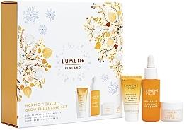 Parfumuri și produse cosmetice Set - Lumene Nordic Valo (f/balm/15ml + essense/30ml + cr/15ml)