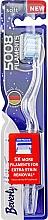 Parfumuri și produse cosmetice Periuță de dinți moale, albastru-alb - Beverly Hills Formula 5008 Filament Multi-Colour Toothbrush