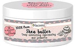 Духи, Парфюмерия, косметика Масло Ши - Nacomi Natural Shea Butter