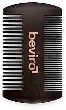 Parfumuri și produse cosmetice Perie pentru barbă - Beviro Pear Wood Beard Comb