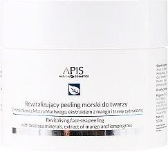 Parfumuri și produse cosmetice Peeling cu sare pentru față - APIS Professional Revitalising Face Peeling Dead Sea Minerals