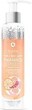 """Parfumuri și produse cosmetice Balsam de mâini și corp """"Portocală cu ardei iute"""" - Kabos Wild Orange & Chilli Hand & Body Lotion"""