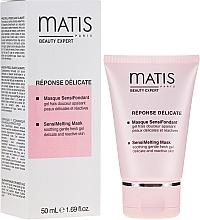 Parfumuri și produse cosmetice Gel-mască revigorantă pentru față - Matis Reponse Delicate Sensimelting Mask