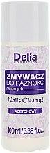 Parfumuri și produse cosmetice Soluție pentru îndepărtarea lacului cu extract de mușețel - Delia Acetone Nail Polish Remover for Natural Nails