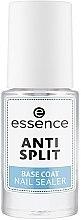Parfumuri și produse cosmetice Bază împotriva stratificării unghiilor - Essence Anti Split Base Coat Nail Sealer