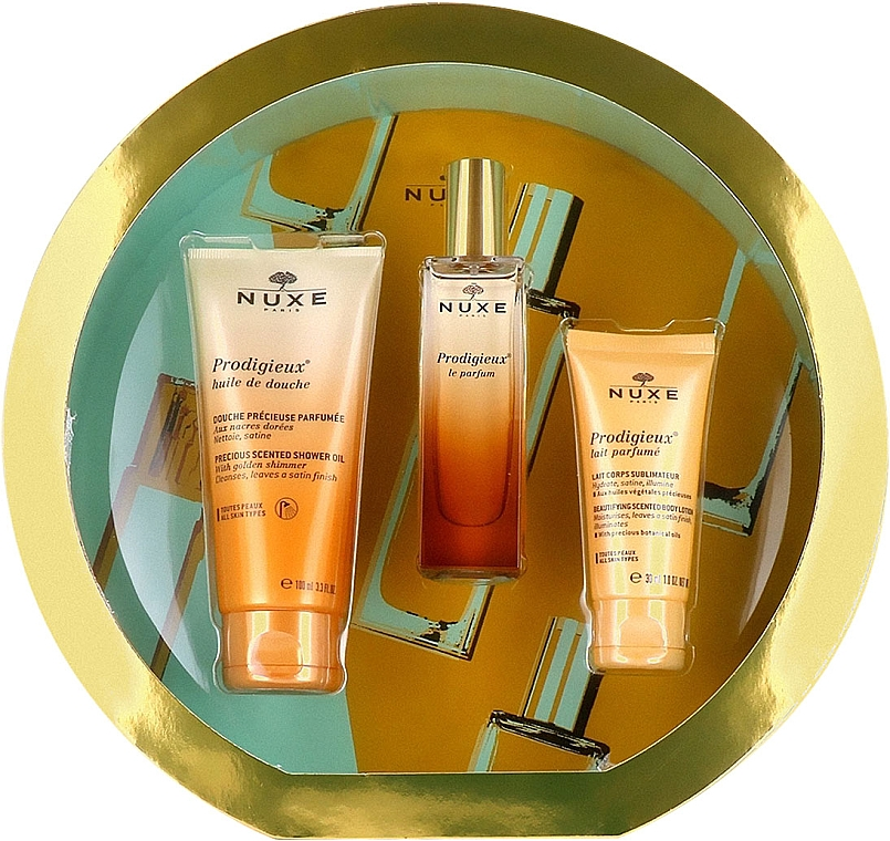 Nuxe Prodigieux Le Parfum - Set (edp/30ml + sh/oil/30ml + b/lot/100ml)