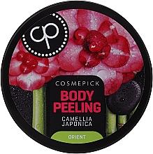 Духи, Парфюмерия, косметика Peeling relaxant cu ulei de camellia japonică pentru corp - Cosmepick Body Peeling Camellia Japonica