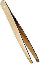 Parfumuri și produse cosmetice Pensetă pentru sprâncene - Oriflame Giordani Gold Slant Tweezer