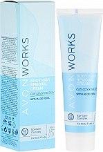 Parfumuri și produse cosmetice Cremă epilatoare pentru corp - Avon Works Body Hair Removal Cream