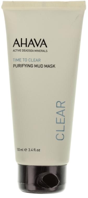 Mască de curățare pentru față - Ahava Time To Clear Purifying Mud Mask — Imagine N1