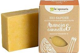 Parfumuri și produse cosmetice Săpun cu extract de portocală și scorțișoară - La Saponaria Orange & Cinnamon Soap