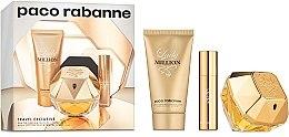 Parfumuri și produse cosmetice Paco Rabanne Lady Million - Set (edp/80 + b/lot/75ml + edp/10ml)