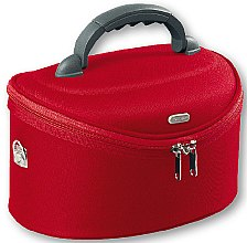 Parfumuri și produse cosmetice Trusă cosmetică ovală, 95085, roșie - Top Choice Oval Red