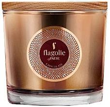 """Parfumuri și produse cosmetice Lumânăre aromată, în pahar """"Ciocolată"""" - Flagolie Fragranced Candle Chocolate"""