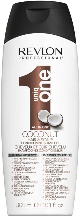 Șampon-balsam cu extract de cocos - Revlon Revlon Professional Uniq One Coconut Conditioning Shampoo