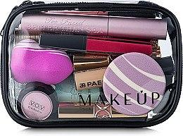 """Parfumuri și produse cosmetice Trusă cosmetică Visible Bag"""" 15x10x5 cm (fără produse) - MakeUp"""