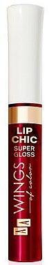 Ulei pentru buze - AA Cosmetics Wings of Color Lip Chic Super Gloss — Imagine N1