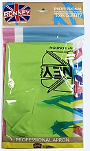 Parfumuri și produse cosmetice Фартук парикмахерский, светло зеленый - Ronney Professional Hairdressing Apron Light Green