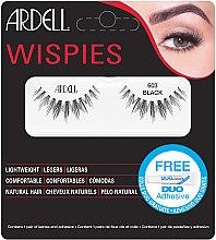 Parfumuri și produse cosmetice Gne false cu adeziv - Ardell Wispies 603 Black