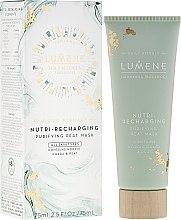 Parfumuri și produse cosmetice Mască regenerantă pentru față - Lumene Harmonia Nutri-Recharging Purifying Peat Mask