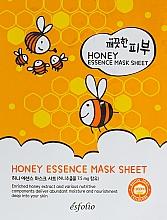 Parfumuri și produse cosmetice Mască din țesătură cu miere - Esfolio Pure Skin Essence Mask Sheet Honey