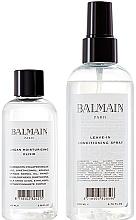 Parfumuri și produse cosmetice Set - Balmain Paris Hair Couture Signature Foundation ( h/spray/200ml+h/elixir/100ml)