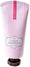 Parfumuri și produse cosmetice Cremă cu extract de in pentru mâini - Welcos Around Me Happiness Hand Cream Linen
