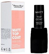 Parfumuri și produse cosmetice Fixator pentru lacul de unghii - Pierre Rene Matt Top Coat Matting Effect