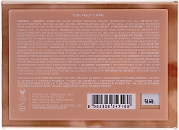 Paletă de farduri de ochi - Nabla Cutie Collection Palette Nude — Imagine N2