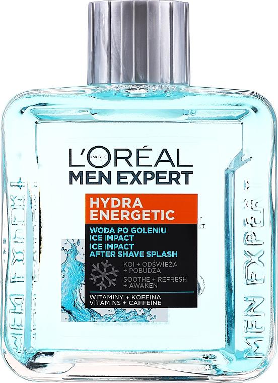 """Loțiune după ras """"Ice effect"""" - L'Oreal Paris Men Expert"""