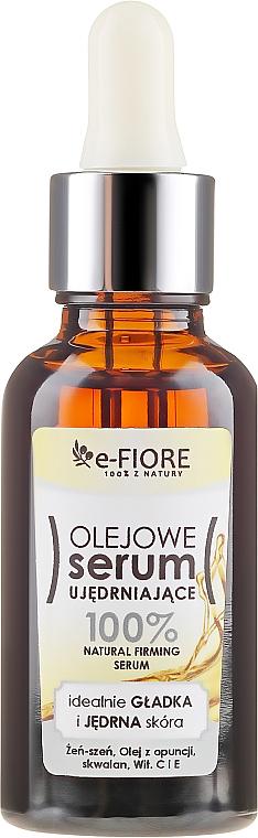 Ser pentru fermitatea faței - E-Fiore Oil Serum — Imagine N1
