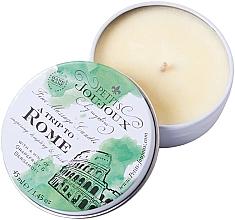 Parfumuri și produse cosmetice Lumânare pentru masaj cu parfum de grapefruit și bergamotă - Petits JouJoux Mini A Trip To Rome