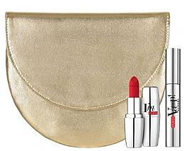 Parfumuri și produse cosmetice Set - Pupa Extreme & I'm Matt 2019 (mascara/12ml + lipstick/3.5g + bag)