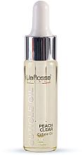 Parfumuri și produse cosmetice Масло для кутикулы «Peach Clear» - Lila Rossa Cuticle Oil