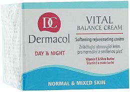 Cremă regenerantă, pentru pielea normală și combinată - Dermacol Face Care Vital Balance — Imagine N1