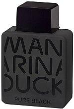 Parfumuri și produse cosmetice Mandarina Duck Pure Black - Apă de toaletă (tester cu capac)
