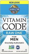 Parfumuri și produse cosmetice Multivitamine pentru bărbați - Garden of Life Vitamin Code Raw One for Men