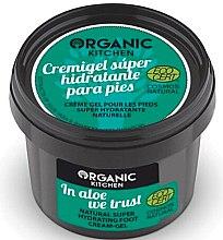 """Духи, Парфюмерия, косметика Крем-гель для ног """"Мы верим в алое"""" - Organic Shop Organic Kitchen Foot Cream-Gel"""